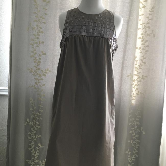 Vince short dress tan Sequins Cotton on Tradesy