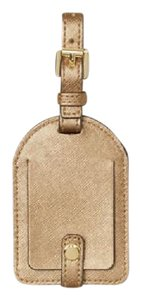 Michael Kors NEW Michael Kors gold Saffiano leather Travel Luggage name Tag