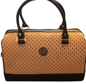 Tory Burch Satchel in pink with black