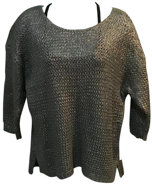 Preload https://img-static.tradesy.com/item/20606323/jennifer-lopez-silvergrey-painted-sweaterpullover-size-os-one-size-0-1-650-650.jpg