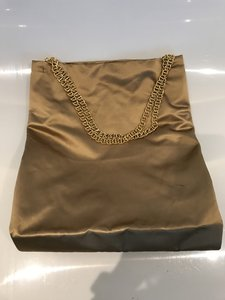 Prada Chain Satin Designer Tote Shoulder Bag
