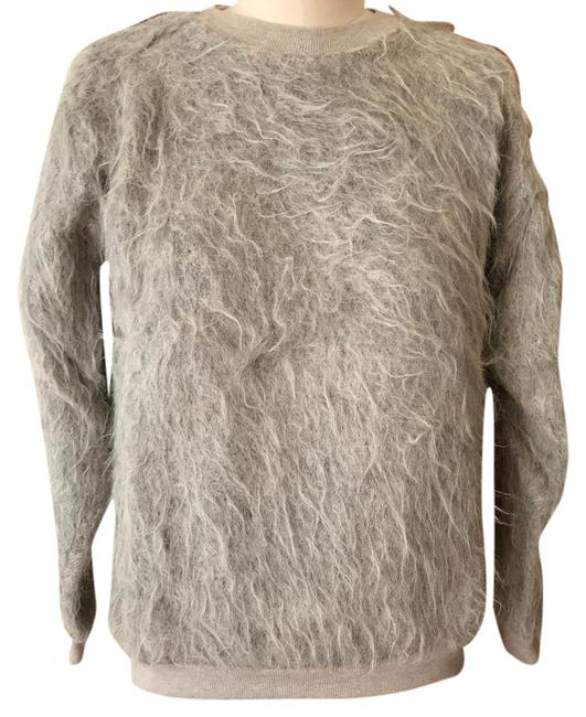 Preload https://img-static.tradesy.com/item/20606425/gray-furry-sweaterpullover-size-4-s-0-1-650-650.jpg