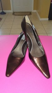Bandolino Metallic cocoa brown Pumps