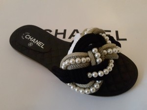 Chanel Runway Mules black Sandals