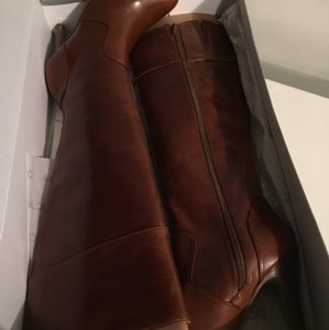 ALDO brown/cognac leather Boots