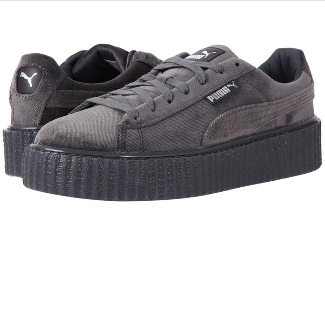 Item - Grey Fenty Rihanna Velvet Creepers Sneakers Size US 7 Regular (M, B)