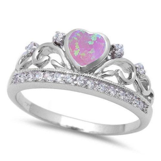 Preload https://img-static.tradesy.com/item/20606596/925-pink-unique-fire-opal-crown-heart-size-8-ring-0-0-540-540.jpg