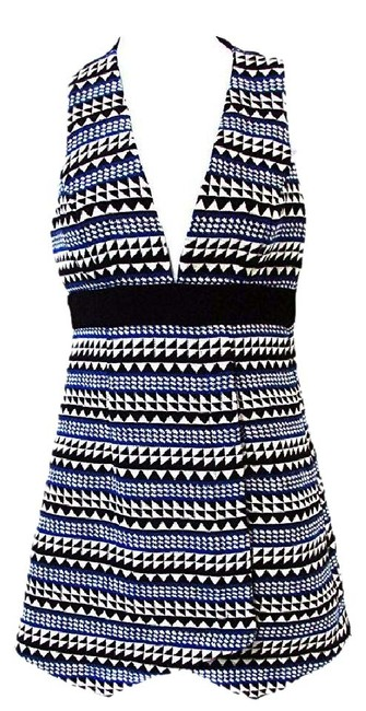 Preload https://img-static.tradesy.com/item/20606658/bcbgeneration-academy-blue-combo-sleeveless-geo-print-shift-short-casual-dress-size-0-xs-0-1-650-650.jpg