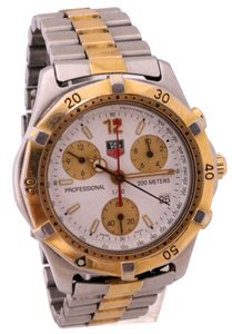 TAG Heuer Men's Tag Heuer Professional 200m Chronograph Authentic Watch