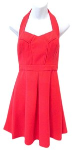 BCBGeneration A-line Halter Dress