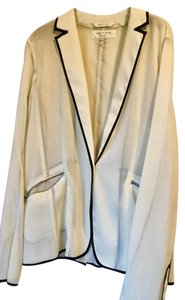Rag & Bone Cool Winterwhite Jacket Cream/black Blazer
