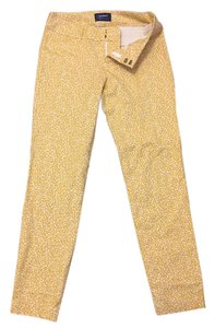 Old Navy Skinny Pants Yellow, cream, multi