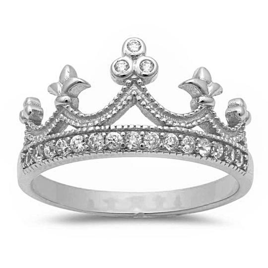 Preload https://img-static.tradesy.com/item/20607057/925-white-stunning-topaz-silver-crown-size-6-ring-0-0-540-540.jpg