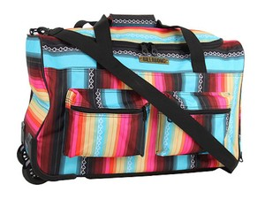 Billabong Backpack Suitcase Tribal Wheels Travel Bag