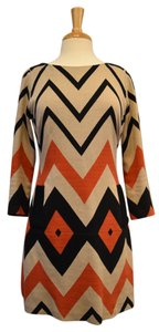 Plenty by Tracy Reese Chevron Long Dress
