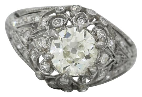 Preload https://img-static.tradesy.com/item/20607143/platinum-diamond-ladies-antique-art-deco-173-engagement-accents-ring-0-1-540-540.jpg