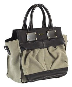 Rag & Bone & Pilot Canvas Satchel in Taupe