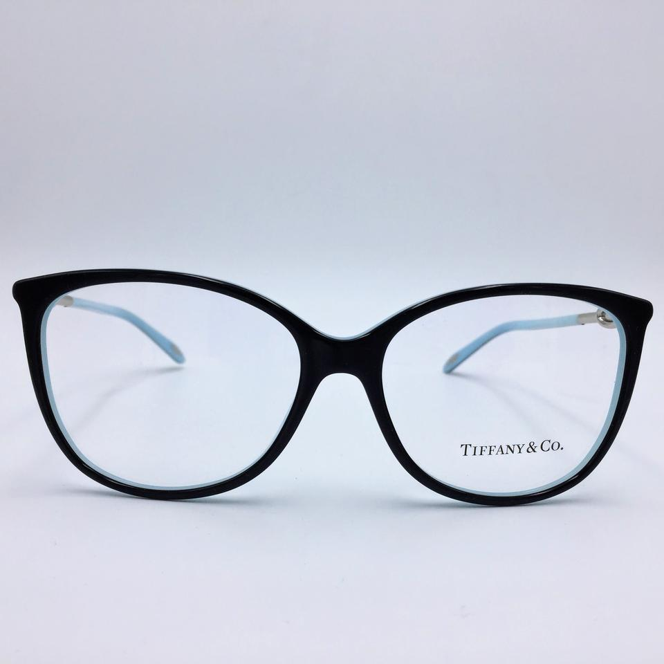 Tiffany & Co. Black Butterfly Blue Rhinestone Rx Eyeglasses Frame Tf ...