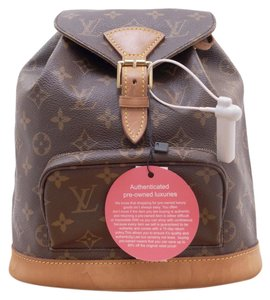Louis Vuitton Lv Montsouris Mm Monogram Backpack