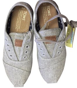 TOMS grey hemp Flats