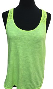 Victoria's Secret T Shirt lime green