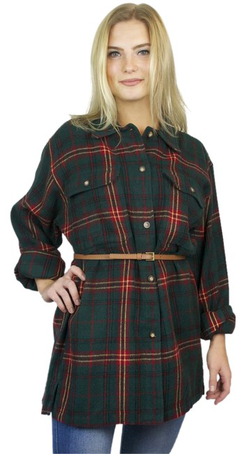 Preload https://img-static.tradesy.com/item/20607464/van-heusen-green-red-plaid-vintage-flannel-oversized-shirt-button-down-top-size-10-m-0-1-650-650.jpg