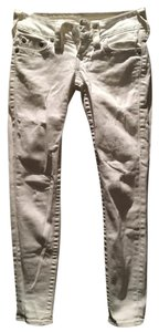 True Religion Low Rise Skinny Skinny Jeans-Light Wash