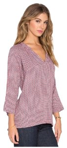 Velvet by Graham & Spencer Plaid Pullover Top