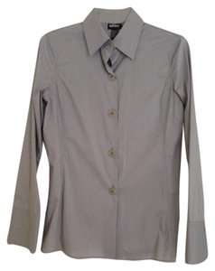 DKNY Dress Shirt New With Tags Button Down Shirt Gray