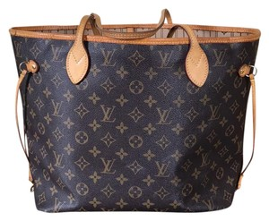 Louis Vuitton Neverfull Canvas Mm Tote in Monogram