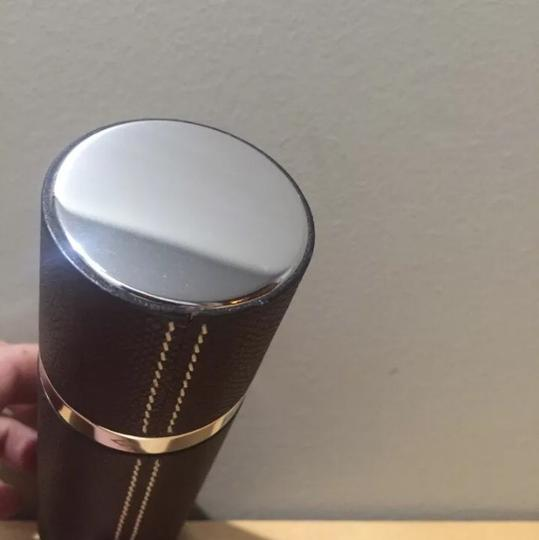 Hermès Leather Empty Fragrance Container