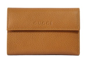 Gucci Gucci 346057 Leather French Wallet Saffron