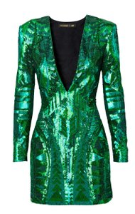 Balmain x H&M Sequins Formal Dress