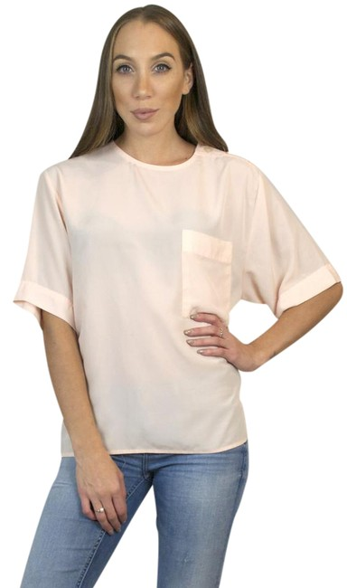 Preload https://img-static.tradesy.com/item/20607648/pink-vintage-silk-oversized-short-sleeve-t-shirt-blouse-size-8-m-0-1-650-650.jpg