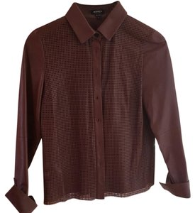 Worth Button Down Shirt Brown