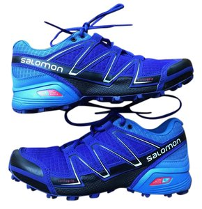 Salomon Speedcross Vario Trail Running Black/Petunia/Blue Athletic