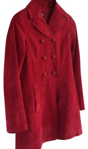 Worth Red Leather Jacket