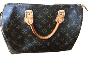 Louis Vuitton Monogram Speedy 30 Vintage New Mint Satchel