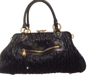 Marc Jacobs Bags Shoulder Bags Leather Bags Satchel in Black