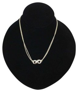 Tiffany & Co. Tiffany & Co Sterling Silver Double Chain Infinity 16