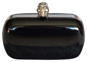 Alexander McQueen Black and Silver Clutch