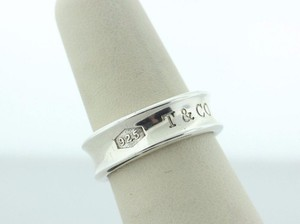 Tiffany & Co. Silver 925 T&CO 1837 Collection Band Ring