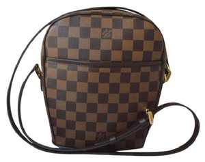 Louis Vuitton Crossbody Strap Adjustable Strap Damier Canvas Crossbody Shoulder Bag