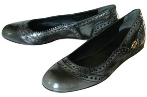 Gucci Barclay Leather Ballet Black Flats