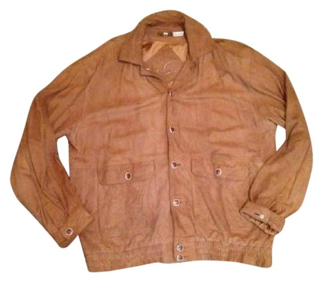 Preload https://img-static.tradesy.com/item/20608128/tan-suede-leather-jacket-size-14-l-0-2-650-650.jpg