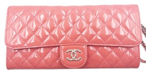 Chanel Coral Clutch