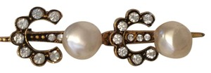 Chanel CHANEL 1984 PEARL and CRYSTAL COCO PIN