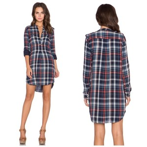 Velvet by Graham & Spencer short dress Plaid on Tradesy