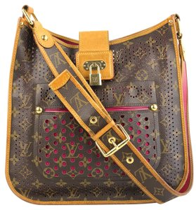 Louis Vuitton Limited Edition Perforated Musette Shoulder Bag