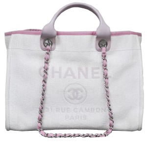 Chanel Deauville Tote\ Tote in White